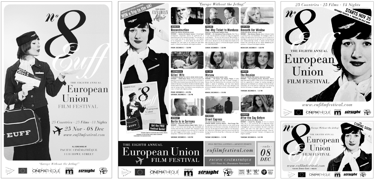 Select advertising from the 8th Annual EUFF