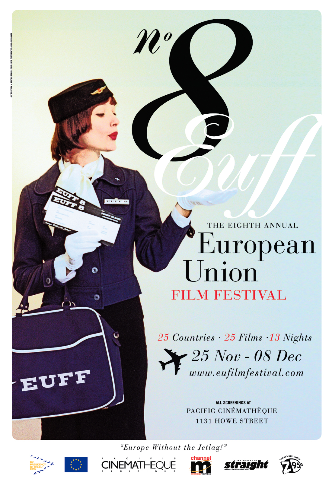 8th Annual European Union Film Festival Poster